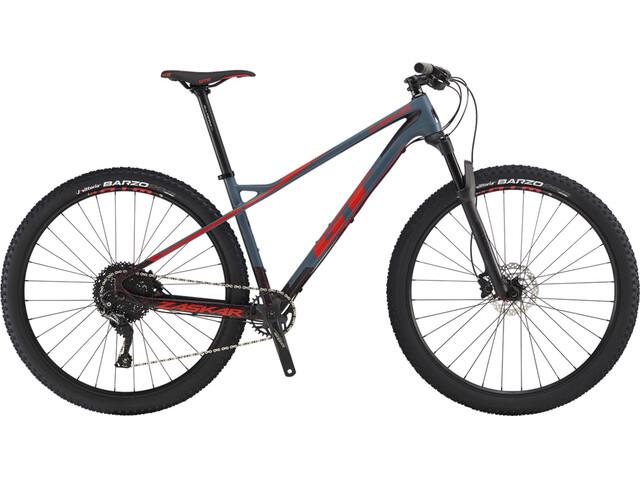 GT Bicycles Zaskar Carbon Comp satin slate blue/black/red